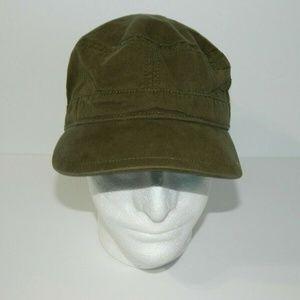 Helly Hansen Olive Green Khaki Hat Cadet Cap